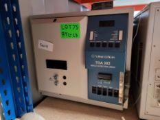 Triple detector array, Viscotek