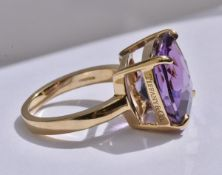Tiffany & Co Sparkler Amethyst Ring