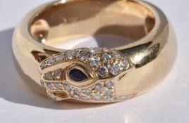 Cartier Panthere Diamond Ring