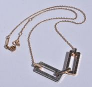 Chopard Ice Cube Necklace