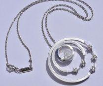 Chopard Happy Diamond Necklace 18k