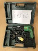 Hitachi DH24PB SDS drill with plastic case