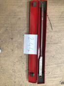 Britool Torque wrench, c/w metal case