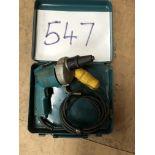 Makita Screwdriver Model 6802PB 110 volt. c/w metal case