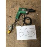 Hitachi Screw Gun W6VB 110V