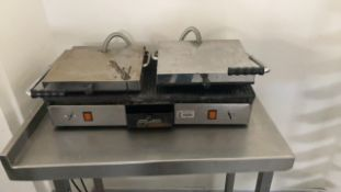 Double Panini grill