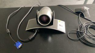 Polycom video camera