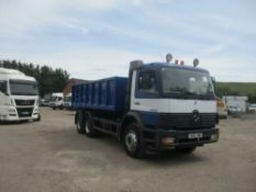 Mercedes 2633b Tipper with hub reduction 2004