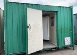 Site Cabin Container Unit 13ft