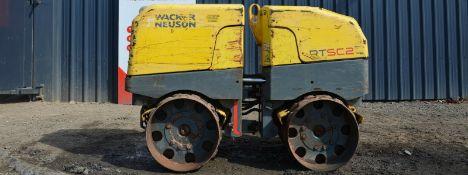 Wacker Neuson Rt82sc-2 Trench Roller 2011