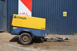 Compair C50 Compressor 2007 Dlt 0407