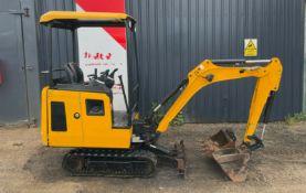 Jcb 15c-1 Mini Excavator 2018
