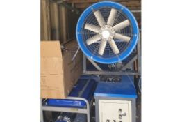 Fully Remote Control Oscillating Water Cannon-Dust Suppression Unit