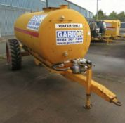 1000 Gallon Towable Water Bowser