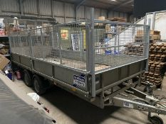 Ifor Williams LM166 Flat Bed Trailer With Full Ramp