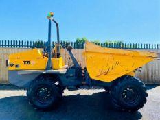 Terex TA6 6 Ton Straight Tip Dumper 2014