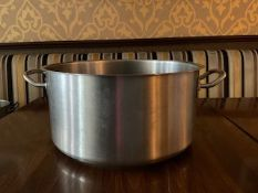 Stew Pot Stainless Steel 18.5 litre