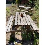 Garden Benches x 4