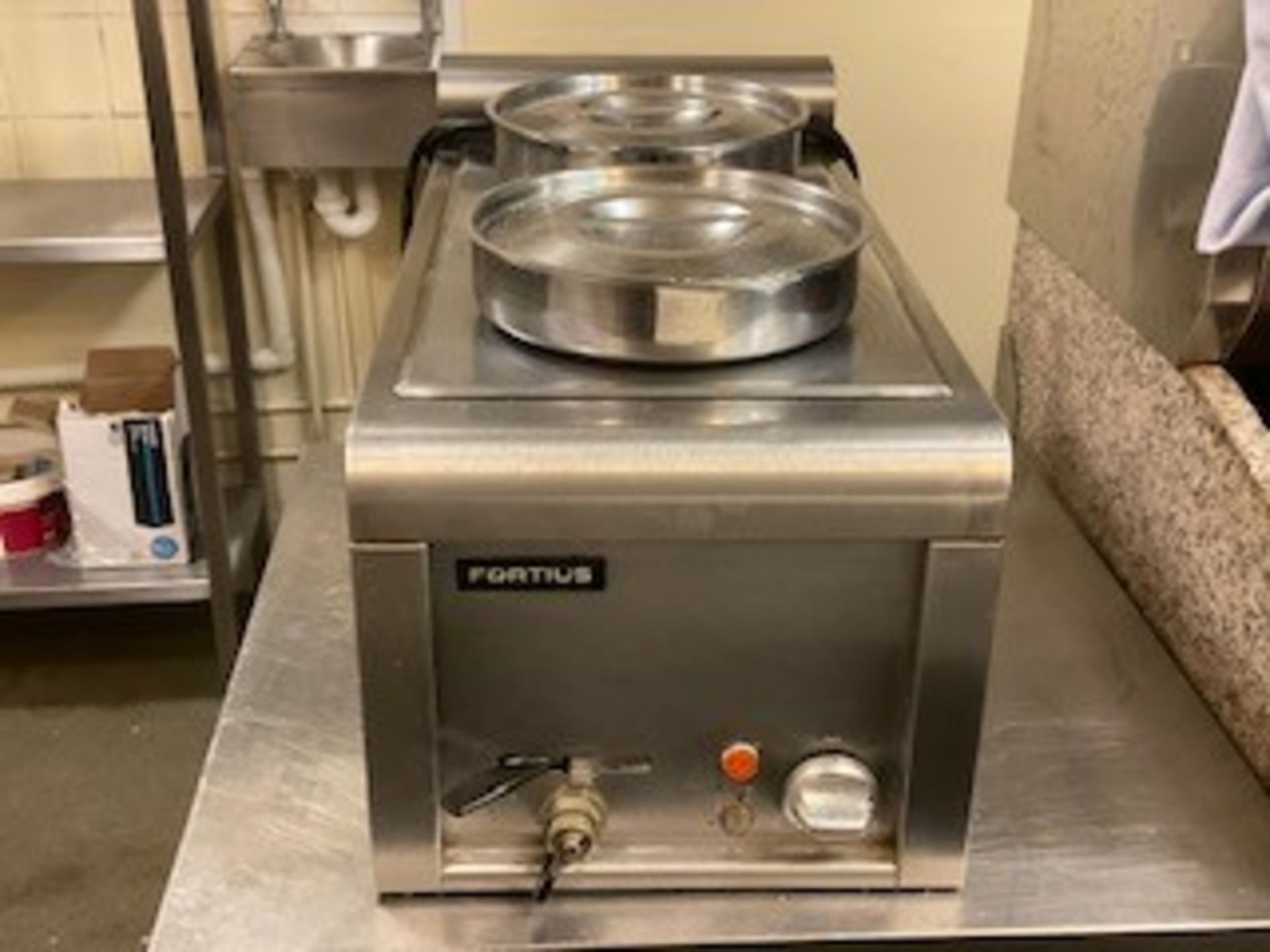 Bain Marie Two Pot Fortius - Image 2 of 2