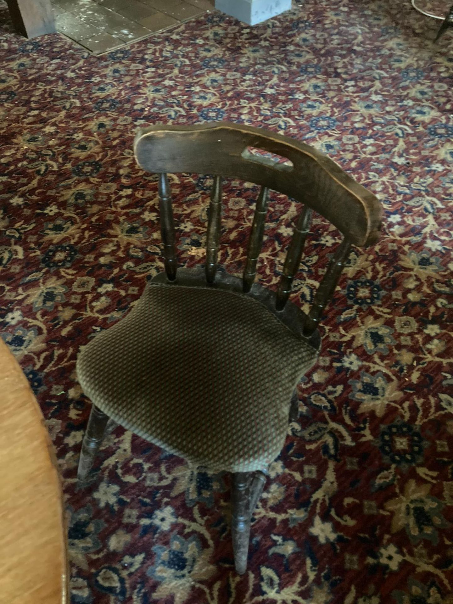 Vintage Pub tables and chairs - Image 9 of 10