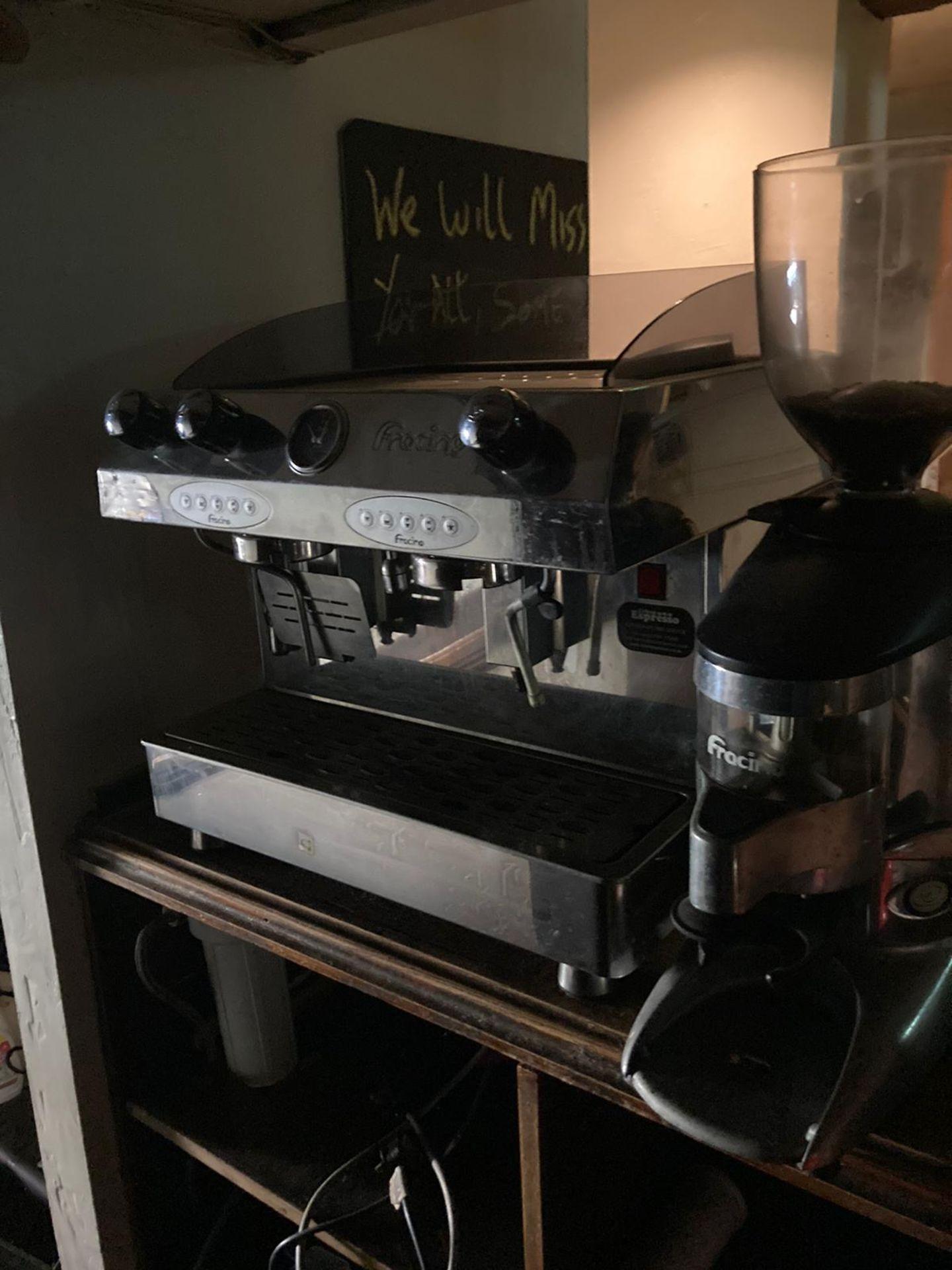 Fraccino Coffee Machine and Grinder