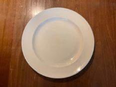 Steelite Main Course Plate white 32cm Set of 40