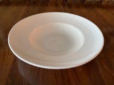 Steelite Pasta Plate white 30cm set of 37