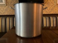 Stockpot Stainless Steel 50 litre
