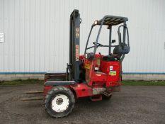 Moffett Mounty Forklift M8 25.3 2005
