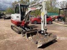 Takeuchi TB230 Excavator 2016