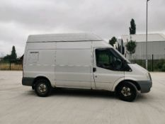 ENTRY DIRECT FROM LOCAL AUTHORITY Ford transit YR59NXC