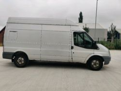 ENTRY DIRECT FROM LOCAL AUTHORITY Ford transit YG59OYU