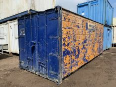 Anti Vandal Steel Portable Storage Shipping Container 20ft x 8ft