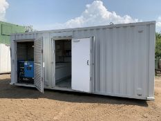 Anti Vandal Steel Portable Welfare Unit Complete With Generator 20ft.
