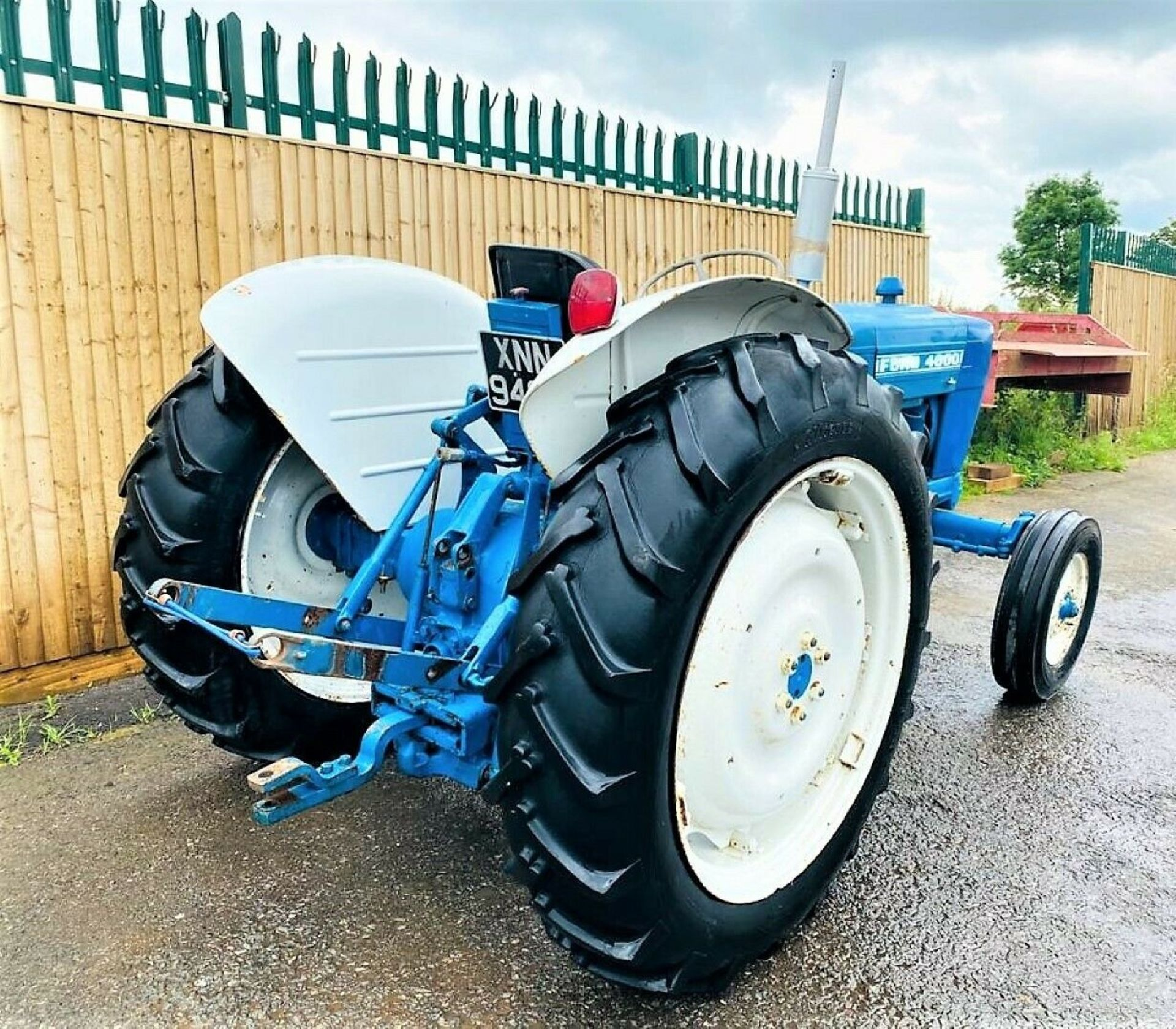 Ford 4000 Tractor 1969 - Image 6 of 12