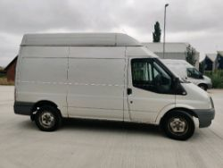 ENTRY DIRECT FROM LOCAL AUTHORITY Ford transit YK60UJD