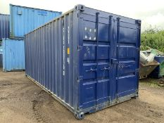 Anti Vandal Steel Portable Storage Container 20ft x 8ft