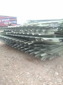 Galvanised Fence Panels x 10