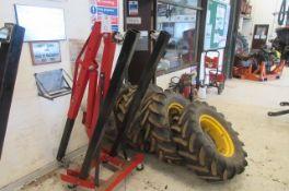 Hydraulic Mobile Engine hoist