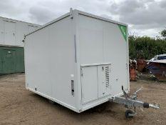 AJC Towable ECO Welfare Unit Site Office Cabin Canteen Toilet Generator