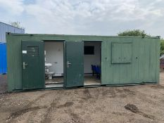 Welfare Unit ECO Portable Site Office Cabin Container Canteen Toilet Generator