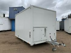 AJC Welfare Unit ECO Low Emissions Site Office Canteen Cabin Dry Room