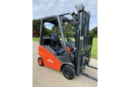 Linde Forklift Truck 2014
