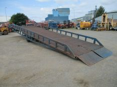 Chase Loading ramp container ramps dock forklift yard mobile titan