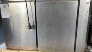 Polar counter gastro refrigeration 2 door