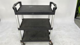 Black Catering trolley