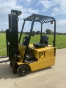 Cat 1.6 Tonne Electric forklift truck