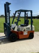Nissan 1.5 Tonne Diesel Forklift