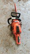 Husqvarna 550XP chain saw