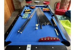 BCE Table Sports Pool Table & Accessories